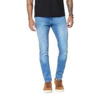Calça Jeans Denuncia Skinny Masculina