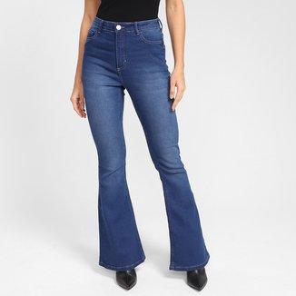 Calça Jeans Dzarm Flare Feminina
