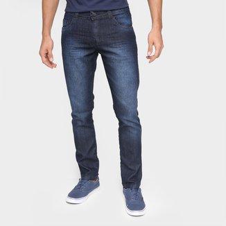 Calça Jeans Ecxo Básica Cintura Média Másculina