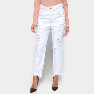 Calça Jeans Ecxo Destroyed Feminina