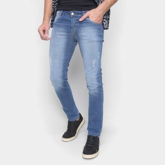 Calça Jeans Ecxo Estonada Masculina