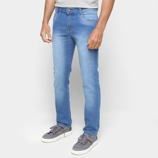 Calça Jeans Ecxo Reta Masculina