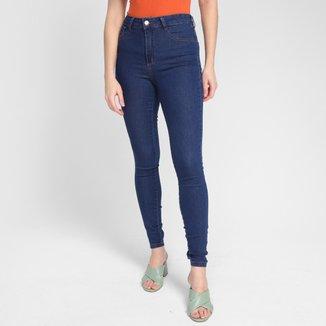 Calça Jeans Ecxo Skinny Basic Feminina