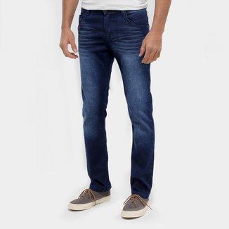 Calça Jeans Ecxo Skinny Estonada Masculina