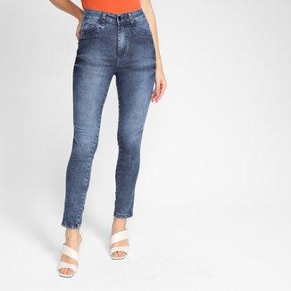 Calça Jeans Ecxo Skinny Pin Feminina