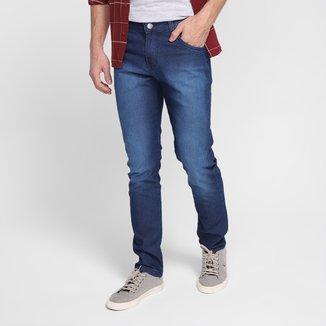 Calça Jeans Ecxo Slim Estonada Masculina