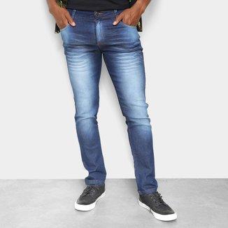 Calça Jeans Ecxo Slim Masculina