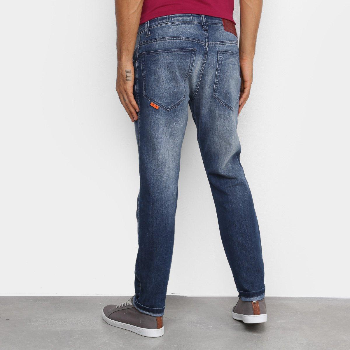 Calça Jeans Ellus Básica Masculina - Azul Escuro