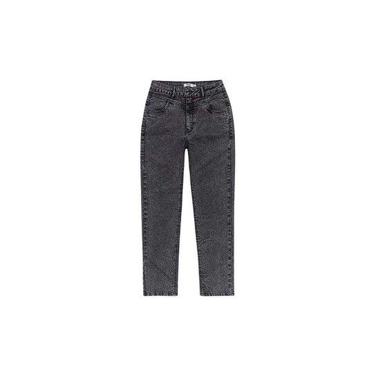 Calça Jeans Enfim Mom Stretch Feminina - Preto