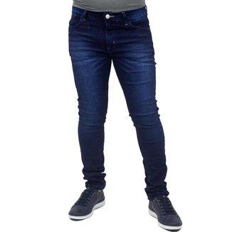 Calça Jeans Escura Skinny Básica Ennafie