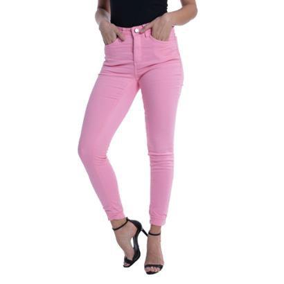 Calça Jeans Eventual Mid Rise Skinny Feminina