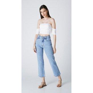 Calça Jeans Express Mom Carmela