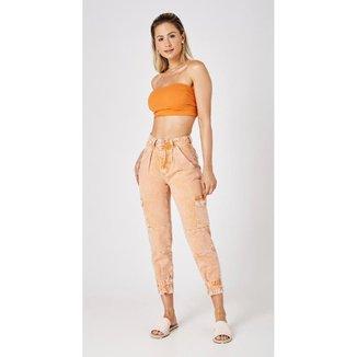 Calça Jeans Express Mom Dora