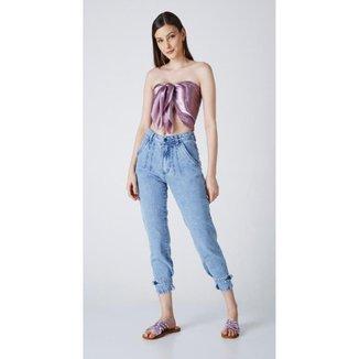 Calça Jeans Express Mom Ellen