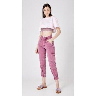 Calça Jeans Express Mom Fabia