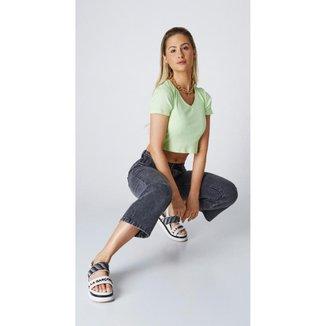 Calça Jeans Express Mom Juliana