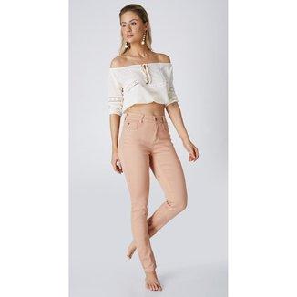 Calça Jeans Express Skinny Color Feminina