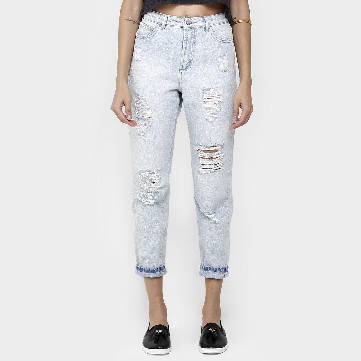 84f0ca8d9 Calça Jeans Farm Boyfriend Rasgada | Zattini