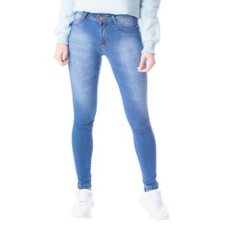 Calça Jeans Feminina Cigarrete TM Denim Azul