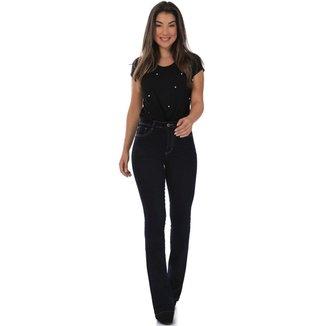 Calça jeans feminina flare - 267791 48