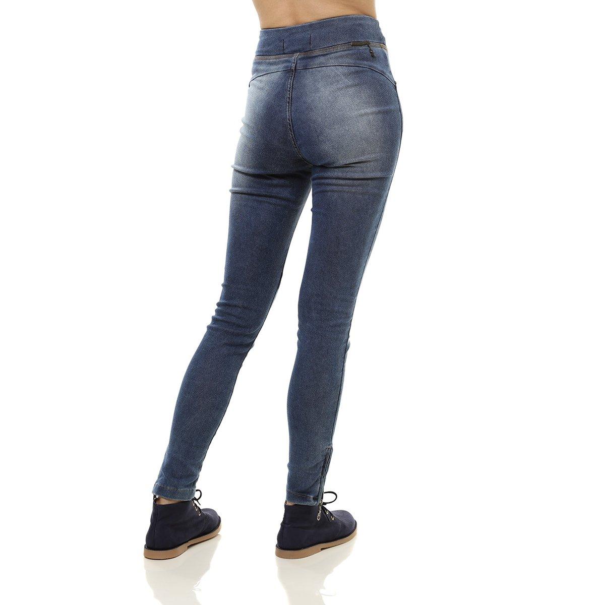 Calça Jeans Feminina Jegging Azul  Calça Jeans Feminina Jegging Azul ... a32755fd779cb