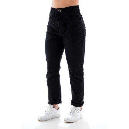 Calça Jeans Feminino Arauto Modelagem Mom