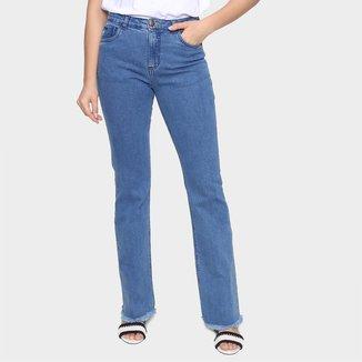 Calça Jeans Flare Cantão BootCut Feminina