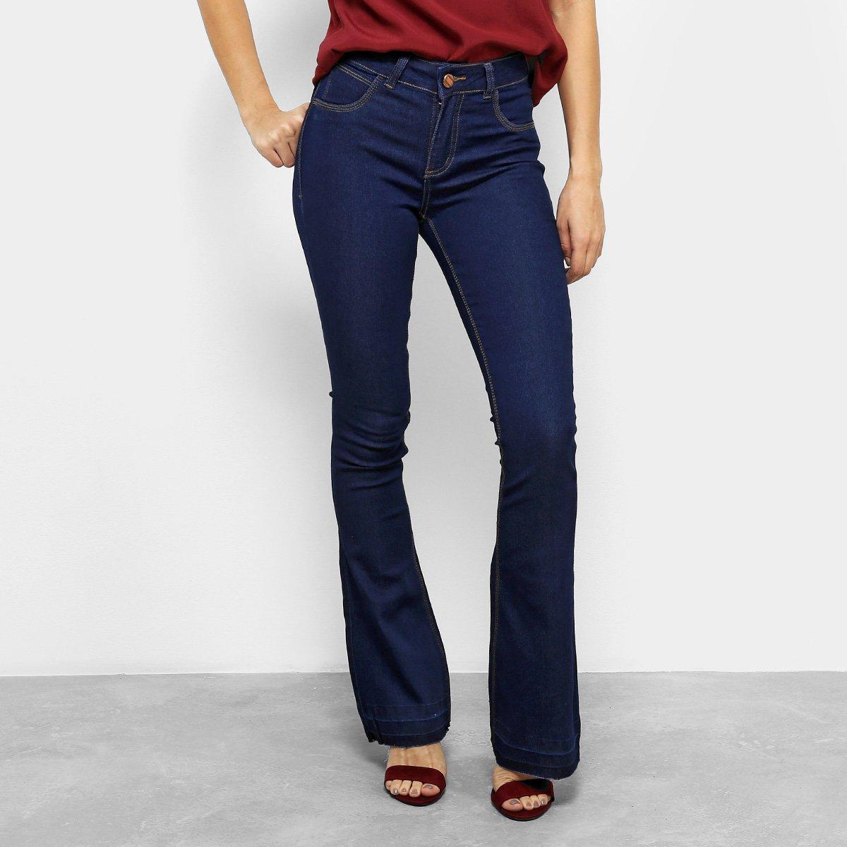 14ec225bb Calça Jeans Flare Coffee Cintura Média Feminina | Zattini