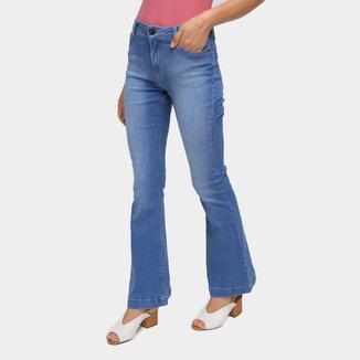 Calça Jeans Flare Hering Estonada Feminina