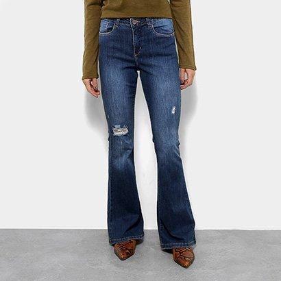Calça Jeans Flare Razon Feminina-Feminino