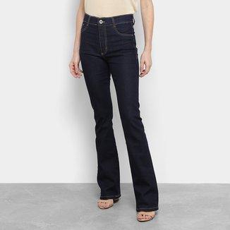 Calça Jeans Flare Sawary Cintura Média Feminina