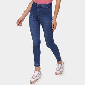 Calça Jeans Hering Cintura Alta Feminina