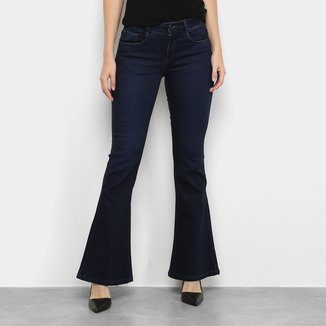 Calça Jeans Hering Flare Feminina