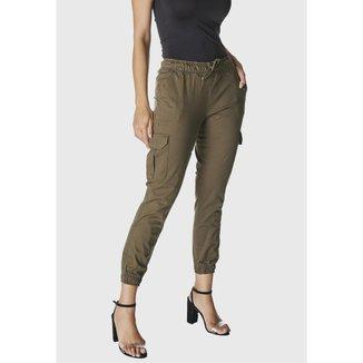 Calça Jeans HNO Jogger Feminina
