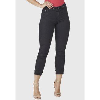 Calça Jeans HNO Skinny Cropped Feminina