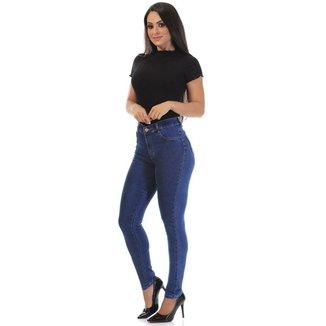 Calça jeans hot pants Sawary feminina