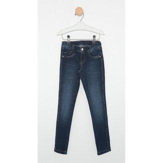 Calça Jeans Infantil Express Skinny Leticia Feminina