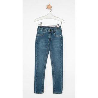 Calça Jeans Infantil Express Skinny Princess Feminina