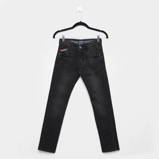 Calça Jeans Infantil Gangster Estonada Masculina