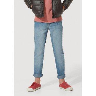 Calça Jeans Infantil Hering com Elastano Masculina