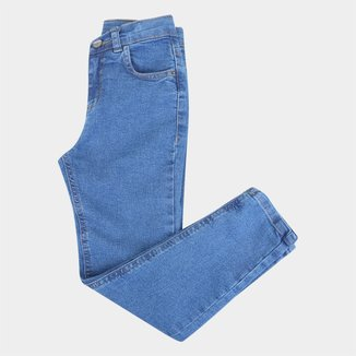 Calça Jeans Infantil Hering Skinny Masculina
