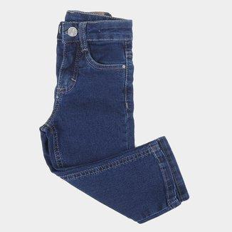 Calça Jeans Infantil Malwee Slim Masculina