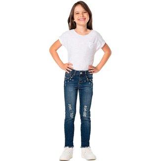 Calça Jeans Infantil Mania Feminina