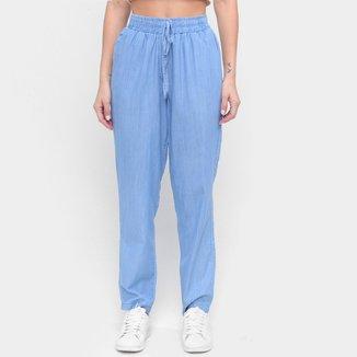 Calça Jeans Influencer Amarração Feminina