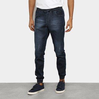 Calça Jeans Jogger Ecxo Masculina