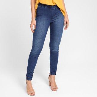 Calça Jeans Jogger Griflle Cintura Média Feminina