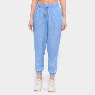 Calça Jeans Jogger Influencer Feminina