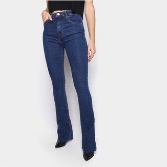 Calça Jeans John John Bootcut Cintura Alta Feminina