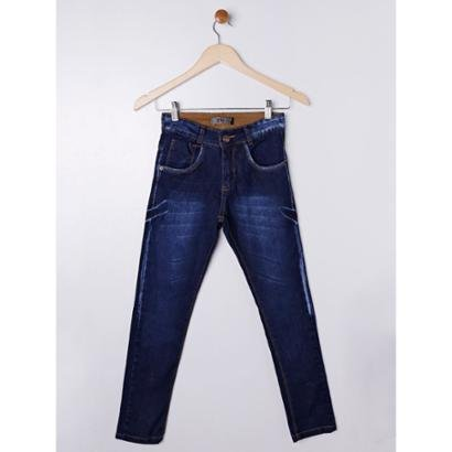 Calça Jeans Juvenil 7 Ganghts Masculina