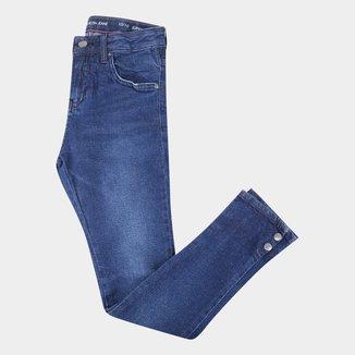 Calça Jeans Juvenil Calvin Klein Super Skinny Feminina